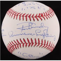 Ron Guidry Signed OML Baseball with Multiple Inscriptions (JSA COA)
