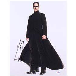"Keanu Reeves Signed ""The Matrix"" 11x14 Photo (PSA COA)"