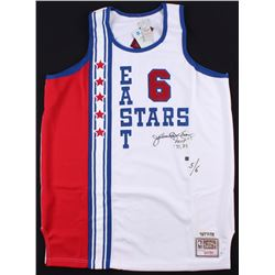 "Julius ""Dr. J"" Erving Signed East Stars All-Star Game Jersey Inscribed ""MVP ' 77 '83"" (JSA COA)"