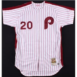 "Mike Schmidt Signed Phillies Jersey Inscribed ""ML MVP 80 81 86"" (TriStar Hologram  MLB Hologram)"