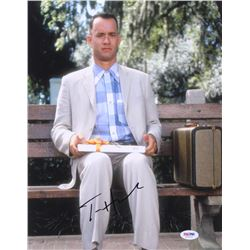"Tom Hanks Signed ""Forrest Gump"" 11x14 Photo (PSA COA)"