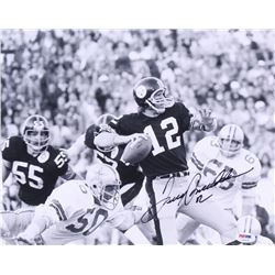 Terry Bradshaw Signed Steelers 11x14 Photo (PSA COA)