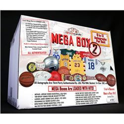 MEGA BOX 2 – Sportscards.com Autograph Mystery Box 9 to 13 Items per BOX!!!
