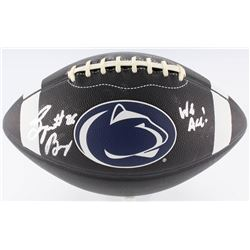 "Saquon Barkley Signed Penn State Nittany Lions Logo Football Inscribed ""We Are!"" (JSA COA)"