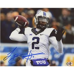 Trevone Boykin Signed TCU Horned Frogs 8x10 Photo (First Class Autographs COA)