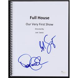 "Bob Saget  Dave Coulier Signed ""Full House: Our Very First Show"" Episode Script (JSA COA)"