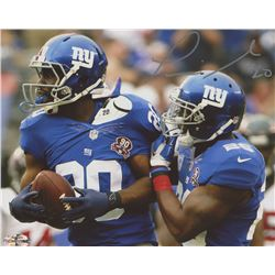 Prince Amukamara Signed Giants 8x10 Photo (First Class Autographs COA)