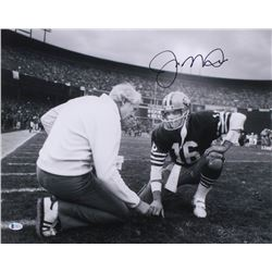 Joe Montana Signed 49ers 16x20 Photo (Beckett COA)