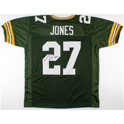 Josh Jones Signed Packers Jersey (JSA Hologram)