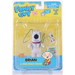 "Seth MacFarlane Signed ""Family Guy"" Brian Figure (Beckett Hologram)"