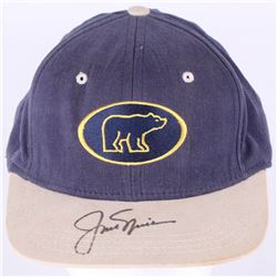 "Jack ""The Golden Bear"" Nicklaus Signed Golden Bear Golf Hat (Beckett LOA)"