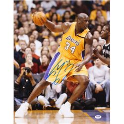 Shaquille O'Neal Signed Lakers 16x20 Photo (PSA COA)