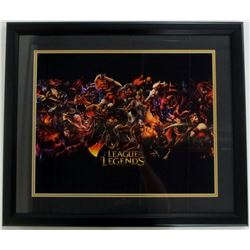 """League of Legends"" 22x27 Custom Framed Photo Display"