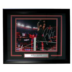 Roman Reigns Signed 16x20 Custom Framed Photo Display (SI COA)