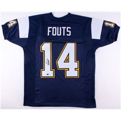 Dan Fouts Signed Chargers Jersey (JSA COA  Fouts Hologram)