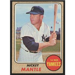 1968 Topps #280 Mickey Mantle