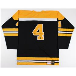 Bobby Orr Signed Authentic Mitchell  Ness 1971-1972 Throwback Bruins On-Ice Game Jersey (Orr COA)