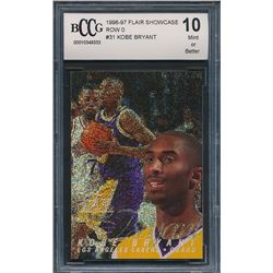 1996-97 Flair Showcase Legacy Collection Row 1 #31 Kobe Bryant (BCCG 10)