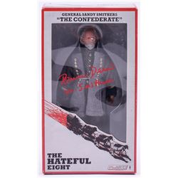 """Bruce Dern Signed """"General Sandy Smithers"""" The Hateful Eight Action Figure Inscribed """"Gen. Smithers"""""""