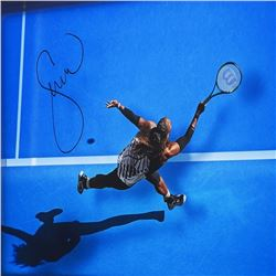 """Serena Williams Signed LE """"Great From Above"""" Framed Acrylic Display( UpperDeck)"""