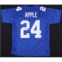 Eli Apple Signed Giants Jersey (FCA COA)