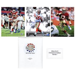San Francisco 49ers Signed Mystery 8x10 Photo – World Champions Edition - Series 1 - (Limited to 3