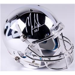 Mark Ingram Jr. Signed Alabama Crimson Tide Full-Size Custom Chrome Helmet (Radtke COA  Ingram Holog