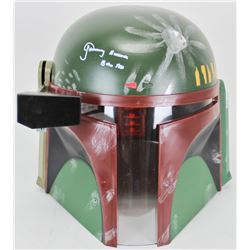 "Jeremy Bulloch Signed Star Wars ""Boba Fett"" Full-Size Deluxe Edition Helmet Inscribed ""Boba Fett"" (B"