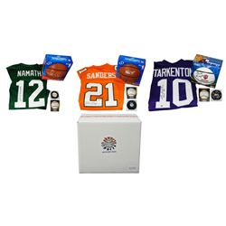 Hall of Fame Enshrinement Mystery Box - Series 2 (Limited to 50) (4 Autographs/ 2 or More Hall of Fa