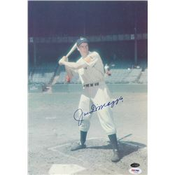 Joe DiMaggio Signed Yankees 11x14 Photo (PSA LOA)