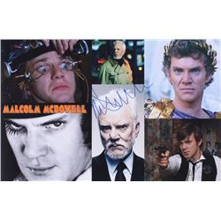 Malcolm McDowell Signed 11x17 Photo (Legends COA)