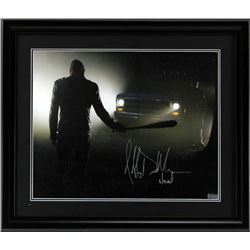 "Jeffrey Dean Morgan Signed ""The Walking Dead"" 23x27 Custom Framed Photo Display (Radtke COA)"