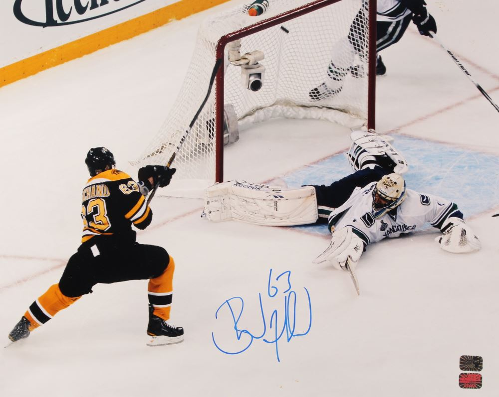 Image 1   Brad Marchand Signed Bruins 16x20 Photo (Marchand COA) 1b194f909
