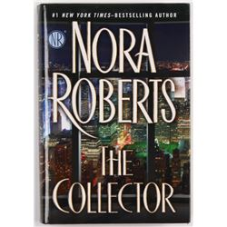 """Nora Roberts Signed """"The Collector"""" Hardcover Book (JSA COA)"""