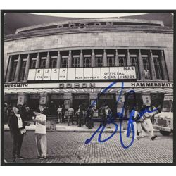 """Geddy Lee Signed """"Different Stages"""" CD Insert Cover (JSA COA)"""