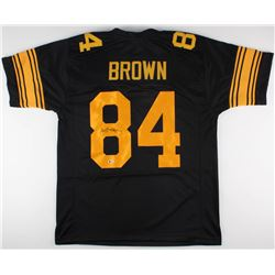 Antonio Brown Signed Color Rush Steelers Jersey (Beckett COA)