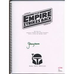 "Jeremy Bulloch Signed Star Wars: The Empire Strikes Back Limited Edition ""Boba Fett Edition"" Full Sc"