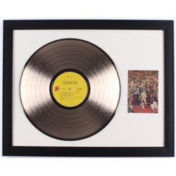 "The Rolling Stones ""It's Only Rock 'N Roll"" 15.5x20 Custom Framed Gold Plated Record Display"