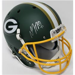 Davante Adams Signed Packers Full-Size Helmet (JSA COA)