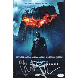 "Christian Bale Signed ""The Dark Knight"" 8x12 Photo (JSA COA)"