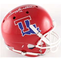 Terry Bradshaw Signed Louisiana Tech Bulldogs Full-Size Helmet (Radtke COA)