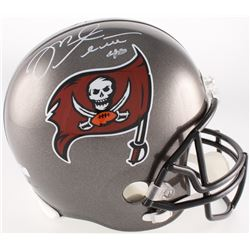Mike Alstott Signed Buccaneers Full-Sized Helmet (Radtke COA)