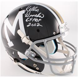 "Kellen Winslow Signed Missouri Tigers Full-Size Helmet Inscribed ""CFHOF 2002"" (Radtke COA)"