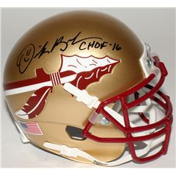 "Derrick Brooks Signed Florida Sate Seminoles Mini-Helmet Inscribed ""CHOF 2016"" (JSA COA  Radtke Holo"