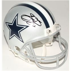 Emmitt Smith Signed Cowboys Mini Helmet (Radtke COA  Prova Hologram)