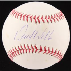 David Wells Signed OML Baseball (Fanatics Hologram  MLB Hologram)