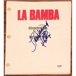 "Lou Diamond Phillips Signed ""La Bamba"" Full Movie Script (PSA COA)"