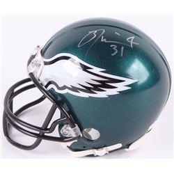 Jalen Mills Signed Eagles Mini Helmet (JSA COA)