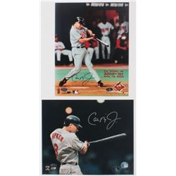 Lot of (2) Cal Ripken Jr. Signed Orioles 8x10 Photo (FSC COA  Ironclad Hologram)