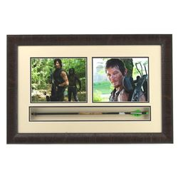 "Norman Reedus Signed ""Walking Dead"" 20x30 Custom Framed Arrow Display (Radtke COA)"